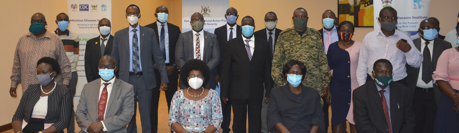 Dr Juliet Setumbwe, the director of Animal Resources at the Ministry of Agriculture Animal Industry and Fisheries has recognized the IDI for having hosted the One Health and environmental activities.